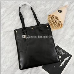 2018 nuovo stile di alta qualità donne del cuoio genuino nero 35cm borsa della pelle olio di cera Borsa tote Borsa shopper Borsa a tracolla eco supplier eco wax da cera di eco fornitori