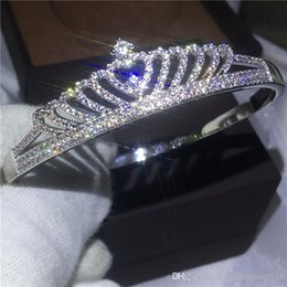 Canada Style de couronne bracelet pavé règlement diamant S925 Silver Filled Partie bracelet de fiançailles mariage pour les femmes festival cadeau Offre