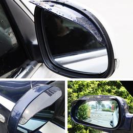 ford foco espelhos Desconto Espelhos retrovisores flexíveis Sunvisor Shade Chuva Escudo Para Ford Focus Suzuki VW Toyota Audi Espelho Lateral Do Carro Pala de Sol Chuva Sobrancelha