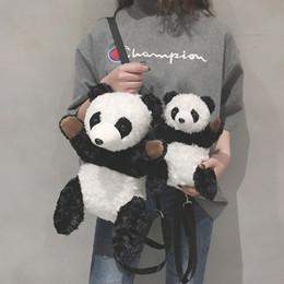 Deutschland 2019 neue baumwolle frauen tasche designer panda form frauen umhängetasche nettes mädchen crossbody freizeit dame brieftasche hohe qualität cheap wallet panda Versorgung