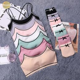 Set di mutande del reggiseno del cotone online-Giapponese Abbigliamento intimo cotone sottile vite push Discussione Up Bra set di biancheria intima posteriore di bellezza donne Bra Panties Set Comfort