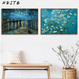 Promotion Fleur Van Vente Peintures De Fleurs Van Gogh