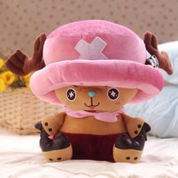 Brinquedos de pelúcia boneca de uma peça on-line-One Piece Brinquedos de Pelúcia Chopper Boneca de Pelúcia Anime Boneca Chopper Brinquedo Bonito