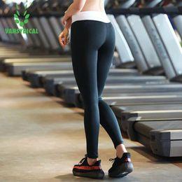 1ba29956d97 Women High Waist Yoga Leggings Sports Pants Fitness Gym Running Tights for  Girls Vansydical 2017 OEM
