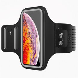 MoKo 3D, teléfono celular con brazalete, funda para teléfono resistente al agua con soporte para llaves para Gym Jog Fitness Workout para iPhone X / Xr # 878707 desde fabricantes