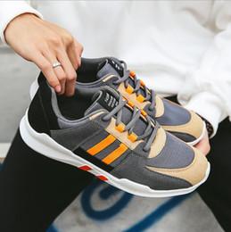 204f0511e tendências da moda homem coreano Desconto Tênis Respirável Para Homens de  Moda Masculina Casual Sports Running