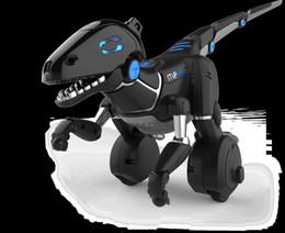 Mando a distancia robótico online-MiPosaur Robotic Dinosaur T-Rex Toy Robot Dino RC Control remoto electrónico Nuevo