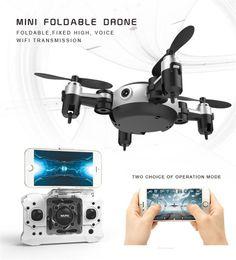 Профессиональная вертолетная камера rc онлайн-Новый Профессиональный RC Вертолет KY901 Wi-Fi FPV RC Quadcopter Мини Drone Складная Селфи Дрон С HD Wi-Fi Камера RC Игрушка VS H37 H31