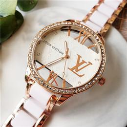 Frauen sehen sich transparent an online-New Fashion Watch VV Luxuxfrauen und Herrenuhren 40mm Transparent Shell Mode-Marken-Uhr