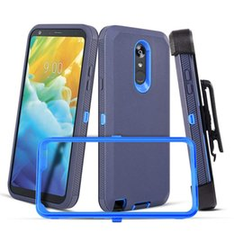 Coque Defender antichoc robuste pour LG Aristo 2 K20 Plus pour Samsung Galaxy S10 Plus J3 J7 2018 J2 Core Clip Clip ? partir de fabricateur