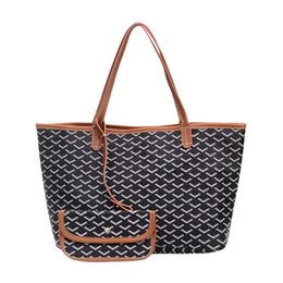 2019 bolsas de cor branca novas Goya Bolsas de Ombro Moda sacolas de couro bolsa goyaard luxo das mulheres francês sacola de compras GM MM bolsas gy tamanho L