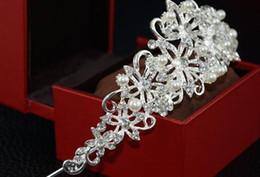 Canada Couronne de la mariée européenne cristal décoration cheveux anniversaire gâteau coiffe bijoux baroques accessoires de vêtement de mariage Offre