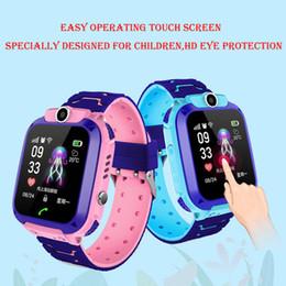 Smart Uhr Lbs Kind Smartwatches Baby Uhr Für Kinder Hd Kamera Sos Anruf Location Finder Locator Tracker Anti Verloren Monitor Kinderuhren