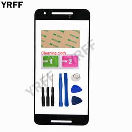 мобильные телефоны Скидка Стекло экрана касания YRFF передвижное наружное для стекла передней панели Googel Nexus 6P