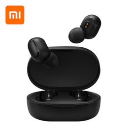 Mi auricular original online-Xiaomi original redmi AirDots TWS auricular de Bluetooth estéreo MI AirDots inalámbrica Bluetooth 5.0 Auricular de control táctil de micrófono Auriculares airpods PK