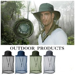 Canada Bonnet moustiquaire avec filet de protection caché Bugs Abeilles pour la pêche en randonnée - Plusieurs couleurs disponibles Offre