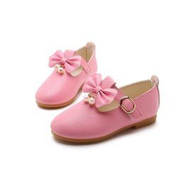 wedding shoes kids 2019 - Spring Children Elegant Princess Sandals Kids  Girls Wedding PU Leather Shoes 6c382c84cd54
