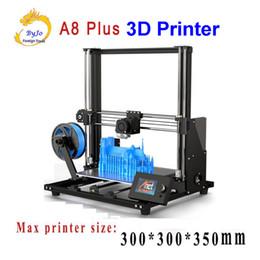 repus prusa i3 kit Rabatt Anet A8 PLUS 3D-Drucker Hochpräziser Druck Großformat 300 * 300 * 350 mm Fenster und MAC werden unterstützt