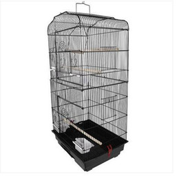 "2021 papagaios amor Wholesasles gratuito shipping37"" Pássaro Gaiola do papagaio Canary Periquito Cockatiel amor do pássaro Finch Bird Cage"