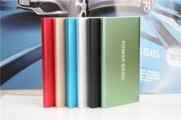 Canada Chargeurs de batterie externes de chargeur de batterie externe de polymère de banque de puissance ultra mince 2018 de banque 8000mAh de polymère Offre