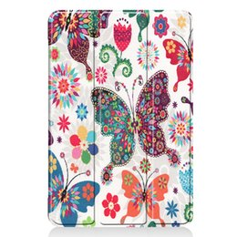 books for painting Coupons - 100pcs Book Flip Cover Case for Apple iPad mini 4 mini 5 2019 7.9 inch mini4 mini5 A1538 A1550 Tablet Colorful Painted Pattern Wake Up
