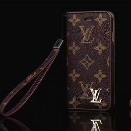 klassischer telefon iphone fall Rabatt Heiße neueste mode klassischen stil leder abdeckung für iphone x xs xr xs max 7 7 plus 8 8 plus luxus designer brieftasche telefon case kartenhalter cases