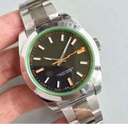 Orologi da uomo di alta classe Lightning MILGAUSSS master 116400GV blu 40mm quadrante standard di alta qualità orologi automatici di design movimento automatico da
