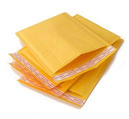 Papier kraft doré en Ligne-Or, papier kraft, sac enveloppe à bulles, nouveau sac express en mousse antichoc, emballage en vêtement composite