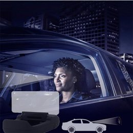 Carro hud bluetooth on-line-Moda Novo Carro HUD Cabeça Display Car-styling Auto Aviso Brisa Projetor Sistema de Alarme Novo Carro Auto Display HUD