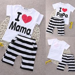2019 chapéus bola de futebol 2020 Nova 2PCS Infante recém-nascido Bebê dos gêmeos das meninas do menino T-shirt Casual + calças roupa Pijama 0-24M Suit