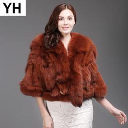 шкуры меха Скидка Hot Sale Women Real 100% Natural  Fur Shawl Coat Autumn Winter Whole Skin  Fur Short Jacket Warm Real Overcoat