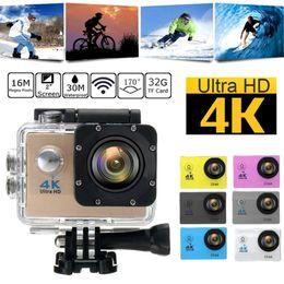 2019 скрытые камеры записи SJ9000 водонепроницаемый Ultra 4K HD 1080P WiFi Спорт Act ионная камера видеокамера DV видео