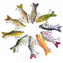 Argentina Moda articulada rígida Duro artificial para peces Pesca con señuelos Nuevo entretenimiento deportivo cheap jointed lures Suministro