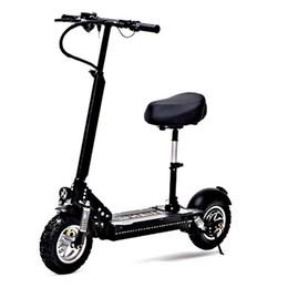 Canada Daibot Adulte Scooter électrique de bicyclette Scooter électrique puissant de moteur simple de 11 pouces 1000W 48V avec le siège pour des adultes Offre