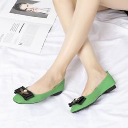 2019 sapatas do ballet do diamante Luxo Diamante Lattice Ballet flats couro Genuíno sapatos femininos sapatos de grife de moda Tamanho 35-40 wl18110606 desconto sapatas do ballet do diamante