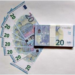 Деньги фильмы онлайн-Money Toiys Fake 20 евро с копией реквизита, с двухсторонним видом, для кино