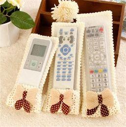control remoto para gree Rebajas El envío libre caliente de control 3PCS cubierta del hogar Aire acondicionado TV de protección del cordón de bolsas de almacenamiento remoto de control de 2 colores cubierta de polvo