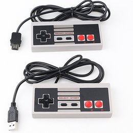 Nintendo nes jogos on-line-Nes clássico mini nintendo joysticks joysticks nes console para mini jogo nes fio de extensão de jogos retro fio eletrônico para o wii