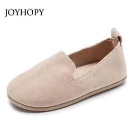 girls dress shoe flat size Coupons - New Spring Autumn 2018 Girls Shoes Size 22-33 Children Party Dress Shoes Girls Solid Color Suede Leather Flat