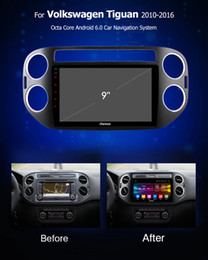 honda civic lettore mp3 Sconti Ownice Autoradio DVD GPS Navi k3 k5 k6 per VW Tiguan 2010 2011 2012 2013 2014 2015 2016 Android 9.0 8core 4G DSP 360 Panorama SPDIF