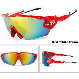 54ed5977bba 5 lens Polarized Cycling Sunglasses Outdoor Sport Cycling Glasses Mens  Mountain Bike Goggles UV400 Bicycle Glasses