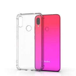 Canada Pour xiaomi Redmi 7 7A Note 7 Note 7 Étui portable TPU transparent antichoc Pro Note 7S avec quatre coins et livraison gratuite Offre