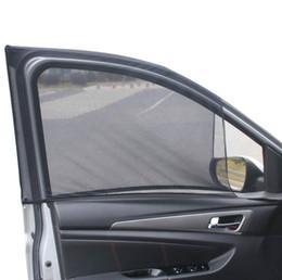 2 x Araba Yan Arka Pencere Güneşlik Kapak Kalkanı Güneşlik UV Yan Pencere Güneş Gölge Örgü Kumaş Kapak Kalkanı UV cheap sun shield car window nereden güneş koruyucusu araba penceresi tedarikçiler