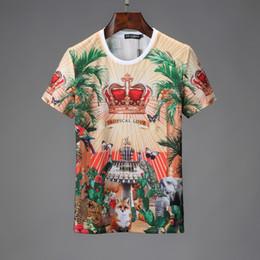Dolce gömlek erkek tasarımcı tişört Gabbana en kaliteli tişörtleri DG Butik pamuk tees trend marka tişört M-XXXL açık spor t-shirt tee nereden kristal düzen tedarikçiler