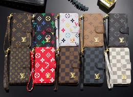 Für iphone x xs max flip brieftasche telefon case luxus leder zurück handytasche fällen für iphone 8 7 6 s plus für samsung s10 s9 s8 plus note 9 8 von Fabrikanten