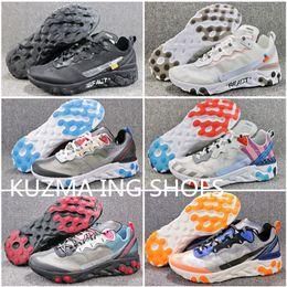 Мужские суперлегкие кроссовки Upcoming React 87 дышащие паруса Кожаные ботинки Pure Platium Женские повседневные спортивные кеды LT Beige Chalk от
