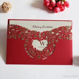 animação de desenho animado de casamento Desconto Casar com o cartão do convite esvaziamento Cartões Ouro Wedding Decore Suprimentos Criativo Photo Special Papelão Hot Vendas 1 7qyC1