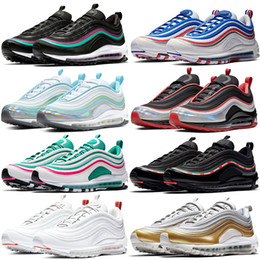 future boots Coupons - Men women 97s OG Triple Black UNDFTD Throwback Future South Beach White Cone running shoes Parra Neon Seoul mens designer shoes sneakers