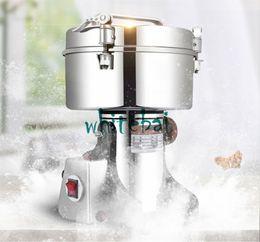 Broyeur de vitesse en Ligne-LIVRAISON GRATUITE 3000G En vente Grinder multifonctionnel de vitesse de poudre de grande capacité, machine de moulin à farine électrique de type oscillant