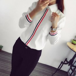 blusa de manga larga blanca formal de dama Rebajas Venta caliente 2019 Primavera Verano Mujer Office Lady Formal Button Down Escuela de manga larga Blusa de algodón Suave Casual Camisa Blanca Tops